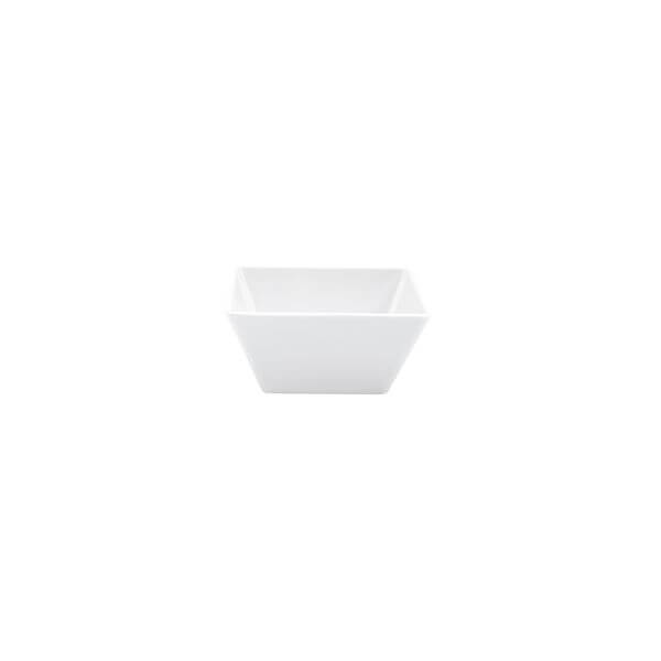 Ryner Melamine Serving Bowls Square Bowl 130x130x70mm White  - 91220-W