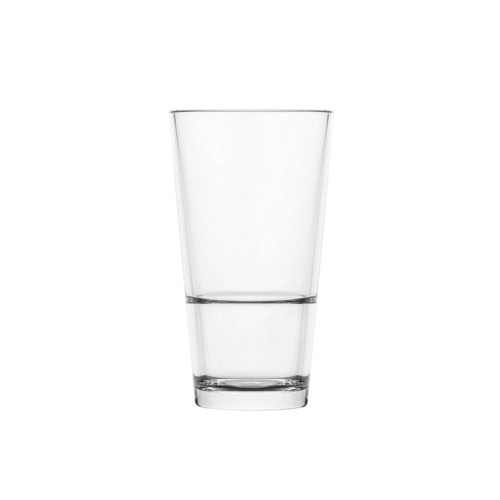 Polysafe Polycarbonate Colins Highball 355ml (Certified, Stackable, Nucleated Base) - (PS-42)