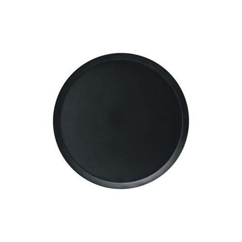 Chef Inox Cake Plate Black Polycarbonate 232x15mm