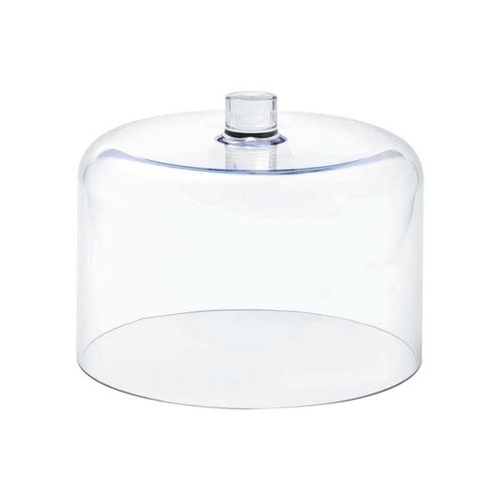 Chef Inox Straight Side Cloche Clear Polycarbonate 275x212mm