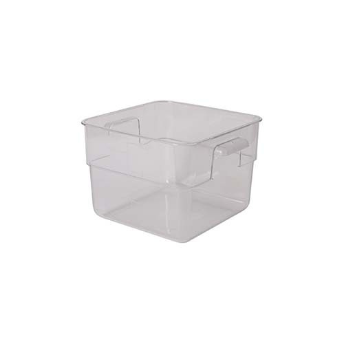 Polycarbonate Square Storage Food Containers 11.4lt