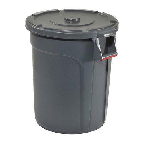 Trust Commercial Thor Round Bin Lid To Suit 75lt - Grey