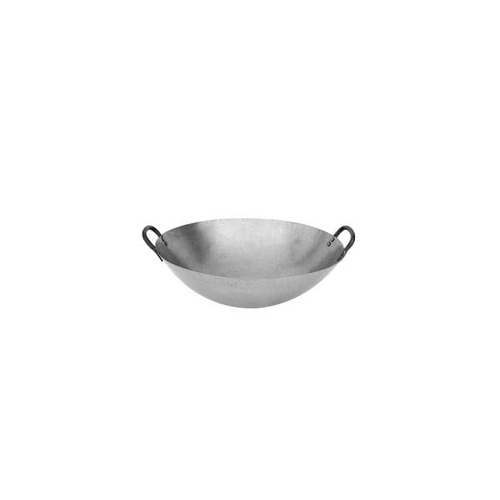 Iron Wok 2 Handles, Round Bottom 360mm