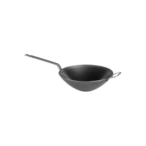 De Buyer Wok 2.0mm Blue Steel 320x58mm