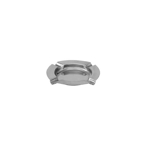 Round Ashtray 125mm Stainless Steel