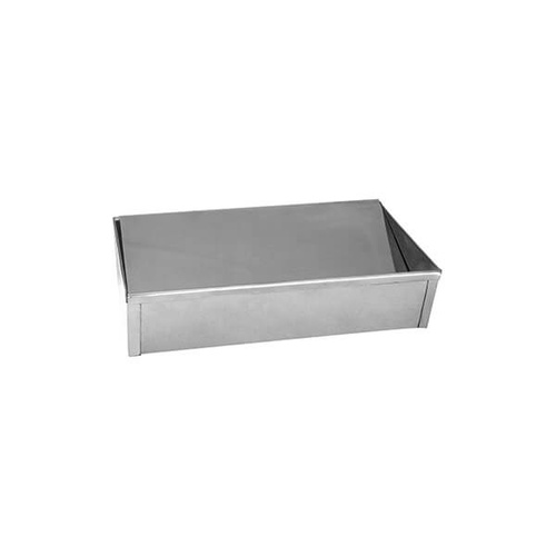 Floor Ashtray 305x190x75mm Stainless Steel