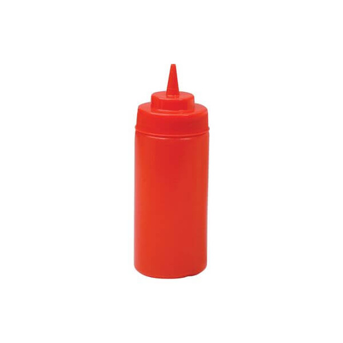 Squeeze Bottle - Wide Mouth 480ml Red