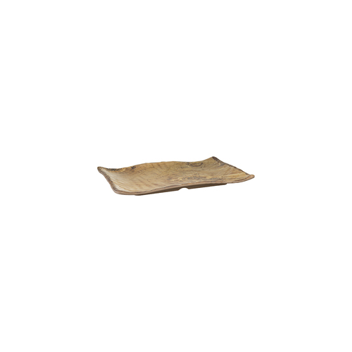 Cheforward Transform Platter 130x100mm - Wood Grain