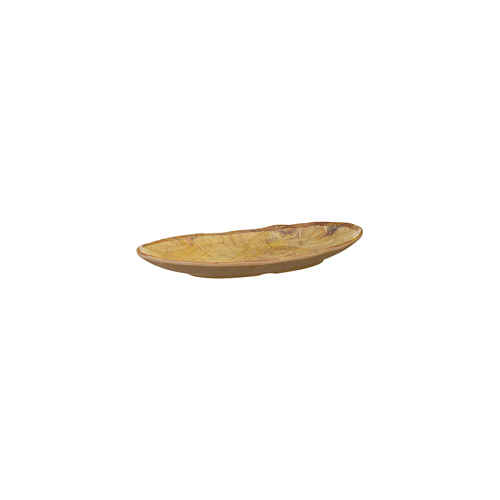 Cheforward Transform Oval Plate 230x140mm - Wood Grain