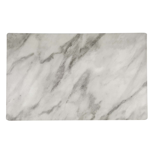 Chef Inox Rectangle Marble Effect Melamine 360x255mm