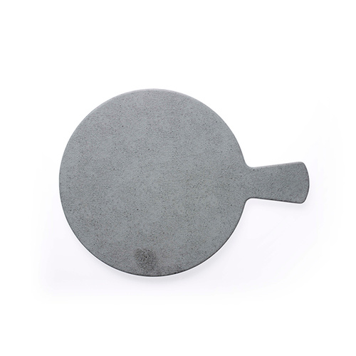 Chef Inox Round With Handle Light Grey Slate Melamine 372mm