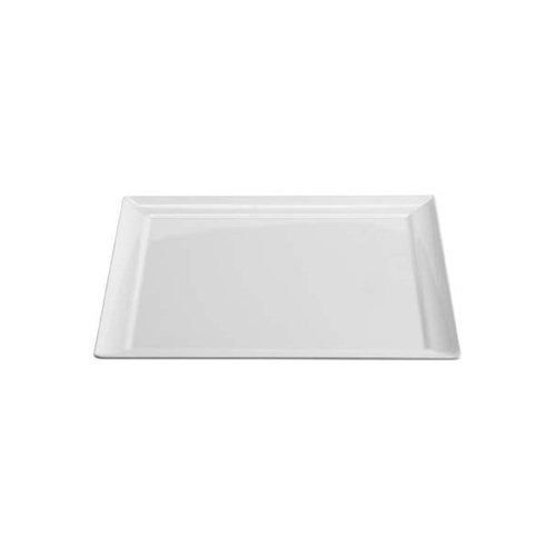 Superware Flat Square Melamine Plate 300mm (Box of 6)