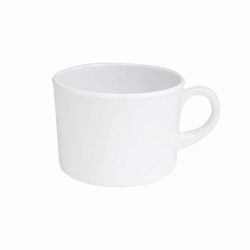Superware Melamine Coffee/Tea Cup White 250ml (Box of 6)