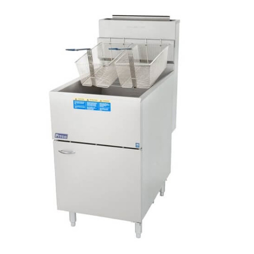 Pitco 65CS 36Ltr Gas Deep Fryer