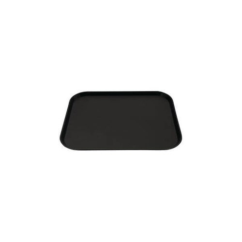 Fast Food Tray 300x400mm Black Polypropylene