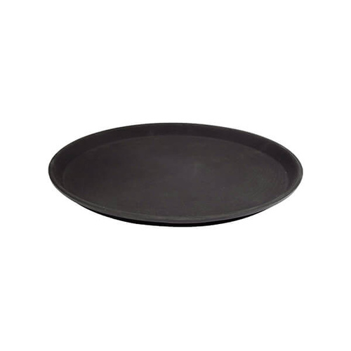 Non - Slip Round Tray 350mm Fibre Glass