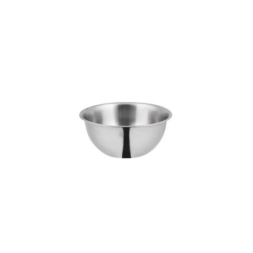 Mixing Bowl - Deluxe 190x85mm / 1.5Lt - 18/8 Stainless Steel - Satin Finished Interior - Mirror Finished Exterior
