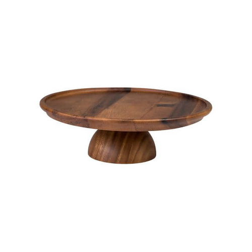 Moda Brooklyn Cake Stand 305x100mm Acacia Wood