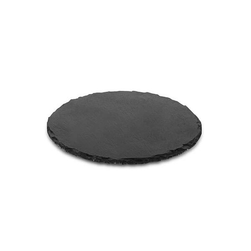 Athena Slate Platters Round Platter 250mm (Box of 2)