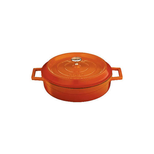 Lava Low Casserole Low Casserole 240x60mm / 2.4Lt Orange