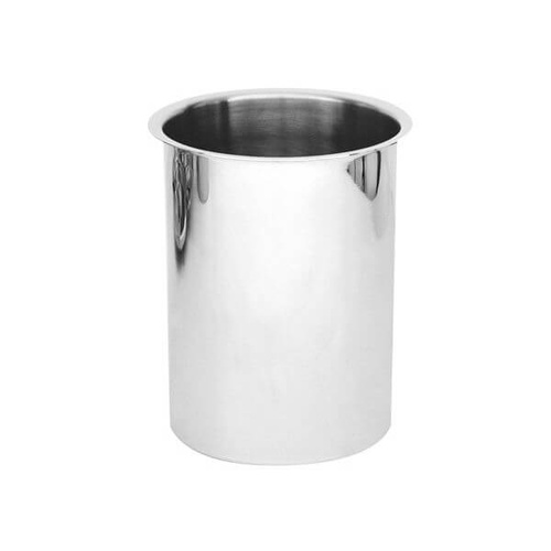 Cannisters 225x217mm / 6.0Lt - 18/8 Stainless Steel