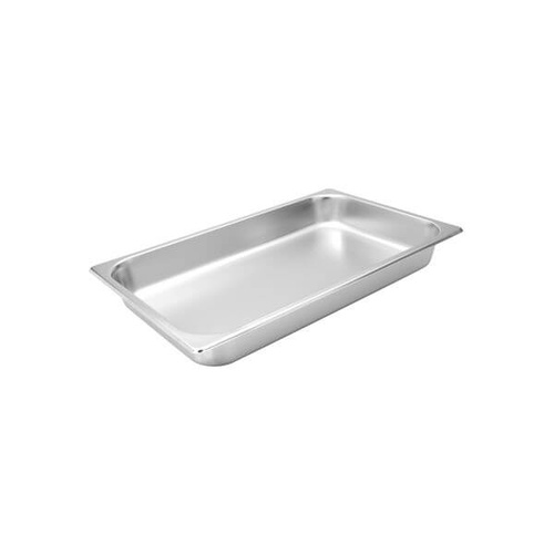 Trenton Standard Gastronorm Steam Pans 1/1 Size 530x325x25mm / 4.00Lt Stainless Steel
