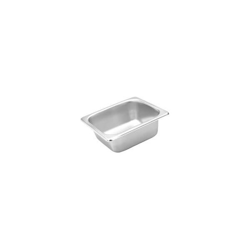 Trenton Standard Gastronorm Steam Pans 1/6 Size 176x162x150mm / 2.8Lt Stainless Steel