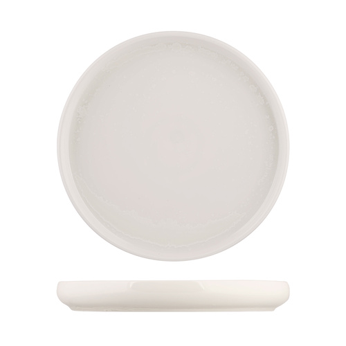 Moda Porcelain Snow Stackable Round Plate 260mm - Box of 3
