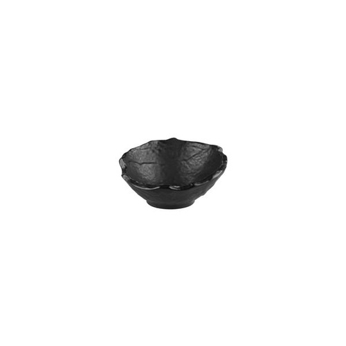 Cheforward Prevail Slant Salad Bowl Matt Black 155mm / 260ml - Box of 12