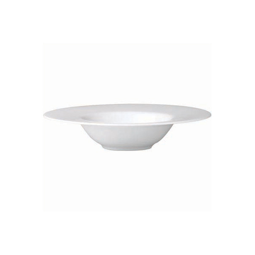 Royal Porcelain Chelsea  Wide Flat Rim Pasta Plate 280mm 65mm (Box of 6)