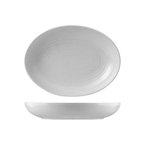 Dudson Evo Pearl Deep Oval Bowl 267mm (Box of 6)