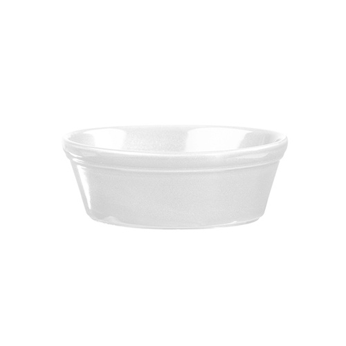 Churchill Cookware Oval Pie Dish White 152x113mm / 450ml - Box of 12