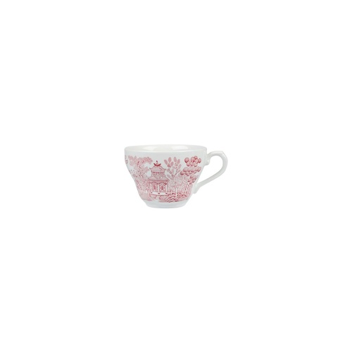 Churchill Vintage Prints Tea Coffee Cup Willow Cranberry 198ml - Box of 12