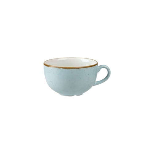 Stonecast Duck Egg Cappuccino Cup Duck Egg 227ml - Box of 12