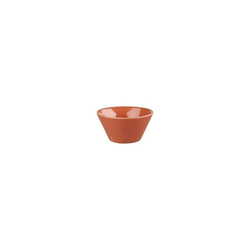 Stonecast Spiced Orange Sauce Dish Spiced Orange 80mm / 90ml - Box of 24