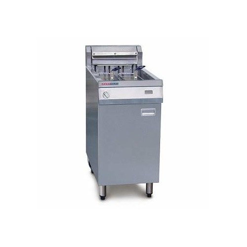 Austheat AF812/R Electric Single Pan Deep Fryer