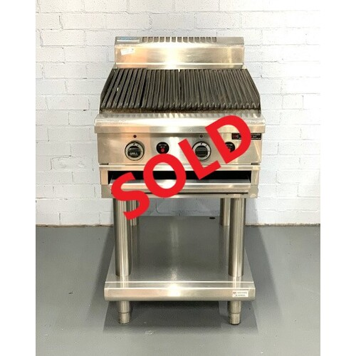 Pre-Owned Waldorf CH8600G-LS Chargrill on Stand - Nat Gas