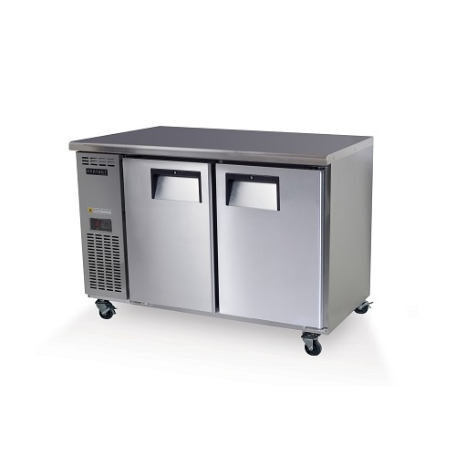 Skope BC120-C-2RROS-E - 2 Solid Door Underbench Non-GN Fridge