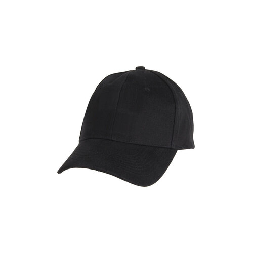 Chef Works Black Baseball Cap - BCSO-BLK