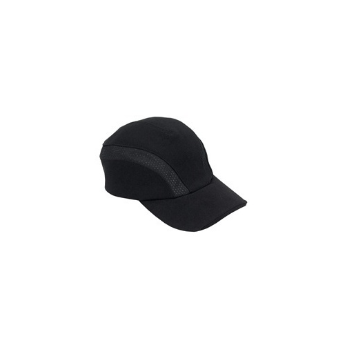 Chef Works Black Cool Vent  Sides Baseball Cap - BCVI-BLK