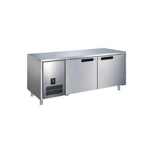 Glacian BFS61420 - 2 Door S/S Underbench Freezer