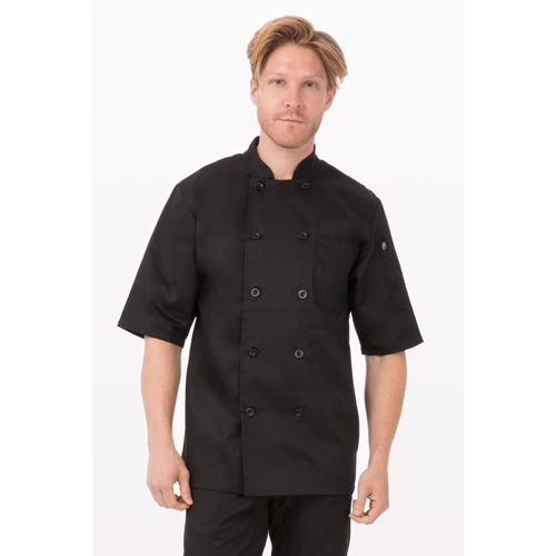 Chambery Black Chef Jacket