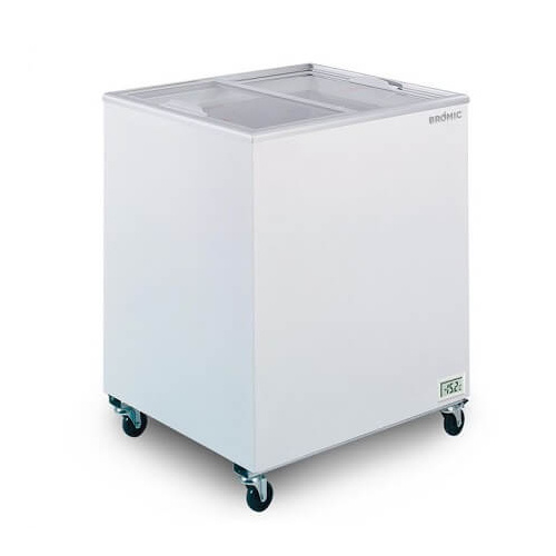 Bromic CF0200FTFG Flat Glass Top 191L - Chest Freezer