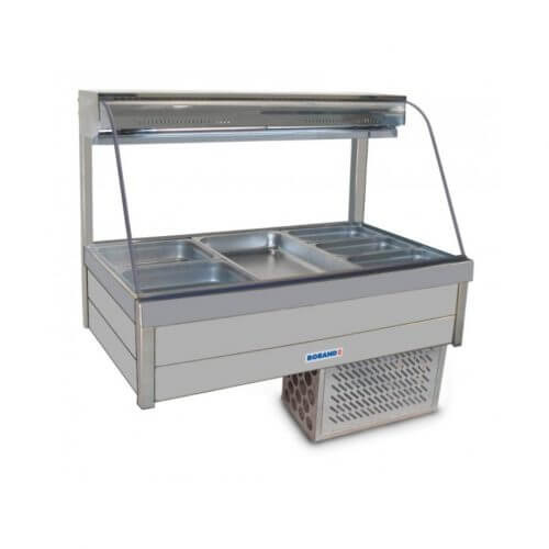 Roband CRX23RD Curved Glass Cold Food Display
