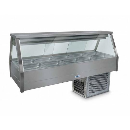 Roband ERX25RD Straight Glass Cold Food Display