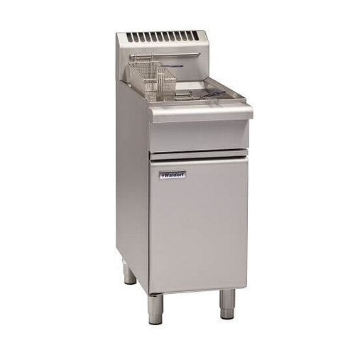 Waldorf FN8118G - 400mm Single Pan Gas Fryer