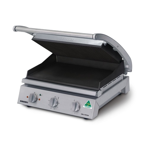 Roband GSA815RT Grill Station - 8 Slices
