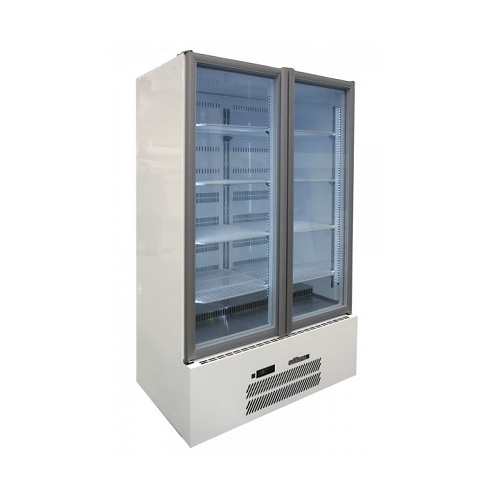 Williams HQS2GDCB Quartz Star Upright Fridge - Glass 2 Door