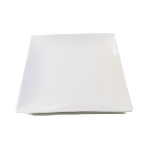 Royal Square Plate 11.5 inch / 280mm - White (Box of 3)