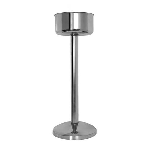 Pujadas Wine / Champagne Bucket Stand 220x690mm - 18/10 Stainless Steel